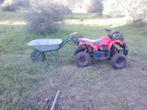 electric quad bike, ATV, Fuseta , Portugal