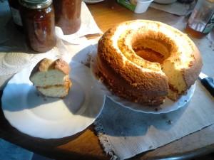 lemon marmalade cake, bolo de lemão, Algarve, Fuseta, Tavira