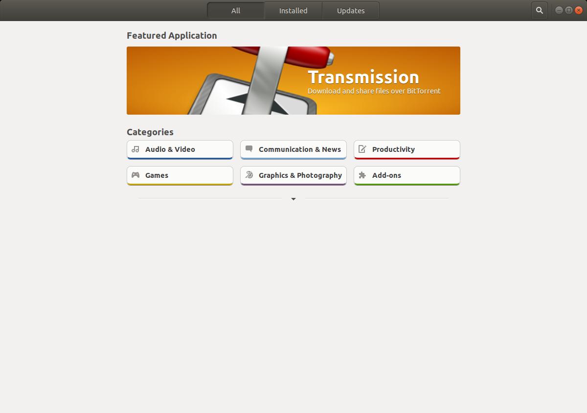 Ubuntu Snap apps