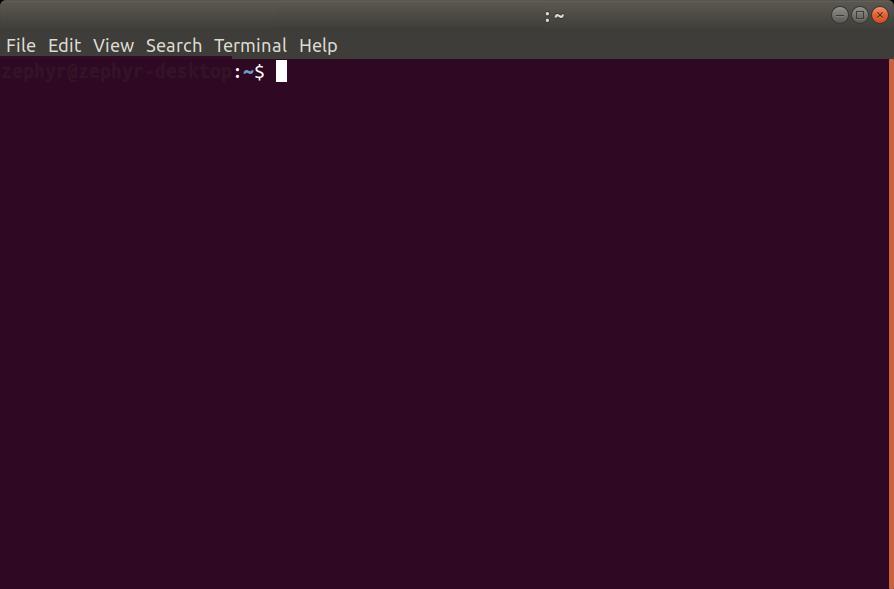Terminal  Ubuntu 18.04