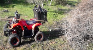 Adult electric quad bike, electric ATV