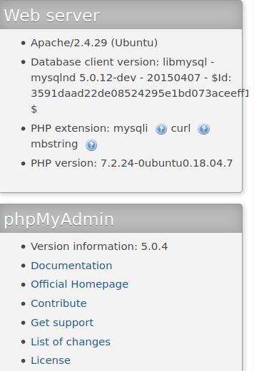 phpMyAdmin error - Warning in ./libraries/sql.lib.php#613