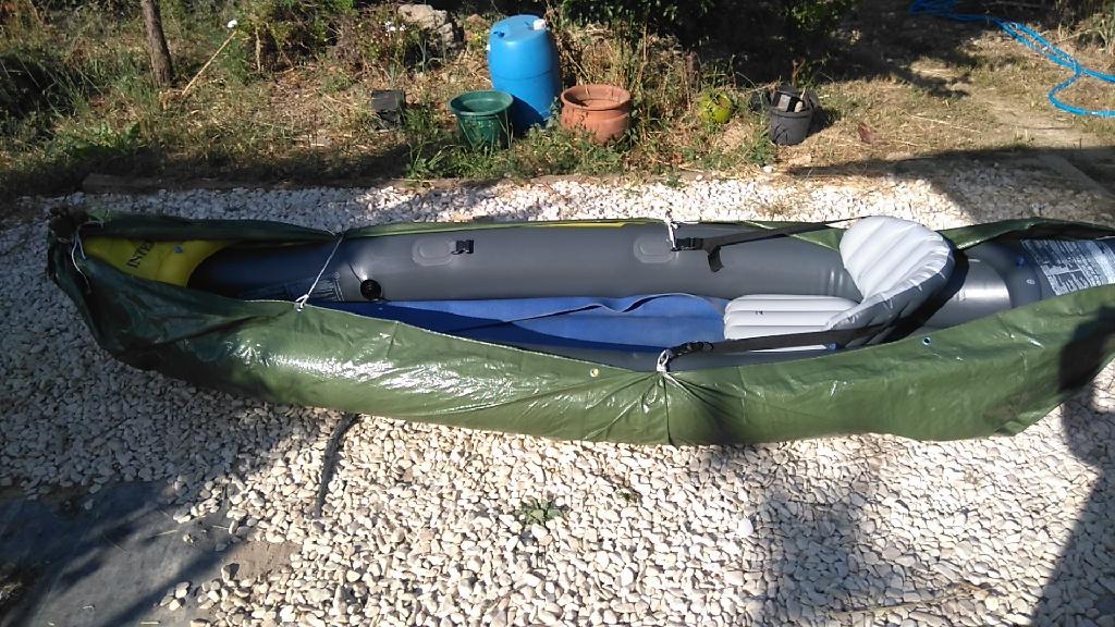 Intex Explorer K2 kayak - great value for money!